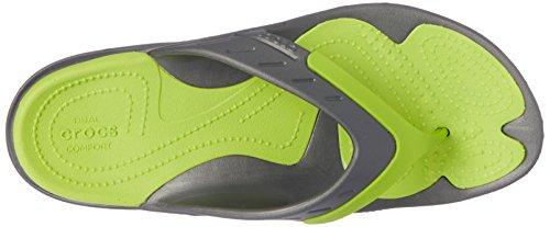 Crocs Unisex Modi Sport Flip Flop Graphit / Volt