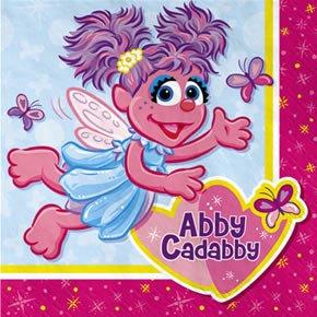 Designware Abby Cadabby Beverage Napkins - 16 (Abby Cadabby Birthday Supplies)