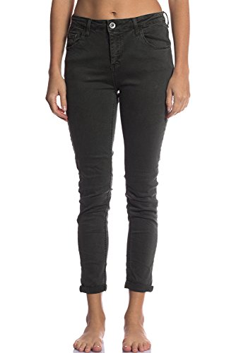 Jean Charme Jeans Transition 3D Vert Abbino Elegante XS Moderne Automne 36 Femme Fashion Jeune Khaki Poches Dlicat Des avec Confortable 7 Casual Gris Hiver Vente Fille Couleurs 6109 Dynamique R77qxwO