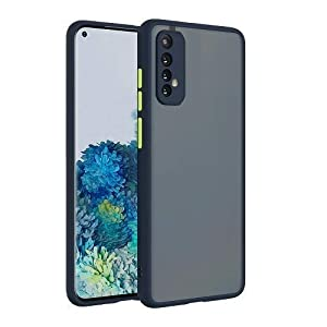 Nainika Smoke Back Cover for Redmi 9 Power Smoke Series Translucent Shock-Proof Smooth Rubberized Matte Hard Back Case…