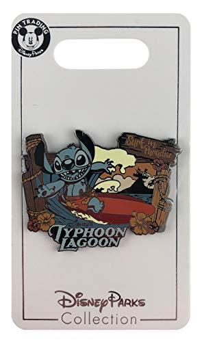 Disney Pin - Typhoon Lagoon - Surf in Paradise - Stitch (Typhoon Lagoon)