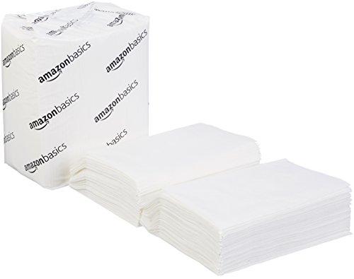 Basic Napkin - AmazonBasics Minifold Dispenser Napkins, White, 250 Napkins per Pack, 24-Pack