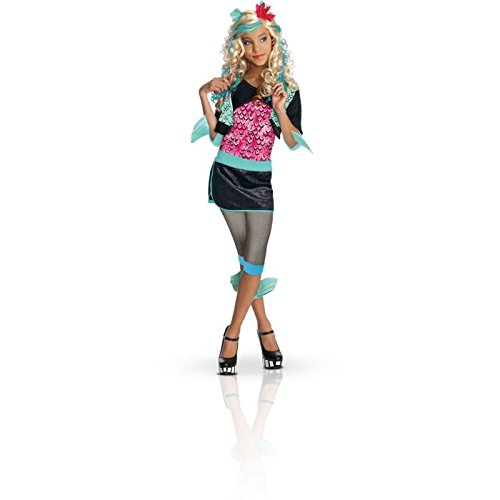 Monster High - Lagoona (Blue) Child Costume Size 8-10 Medium ()