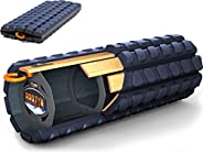 Brazyn Morph Alpha Foam Roller - for Home, Gym, Office, Travel, Athletes - Collapsible & Lightweight Rolle