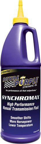 Royal Purple 12512 Synchromax High Performance Synthetic Manual Transmission Fluid - 1 qt. (Case of 12) by Royal Purple