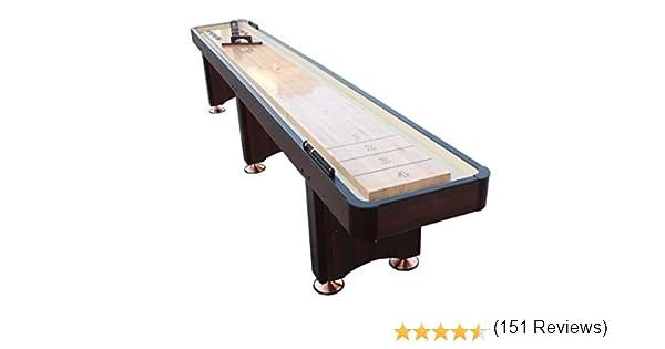 Playcraft Mesa Woodbridge para juego del tejo - SHWOES09, 9-Feet, Espresso: Amazon.es: Deportes y aire libre
