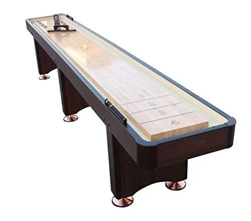 Playcraft Woodbridge Shuffleboard Table, Espresso, 14-Feet