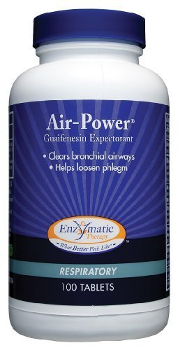 Enzymatic Therapy - Air-Power, 100 tablets [Health and Beauty] by Enzymatic