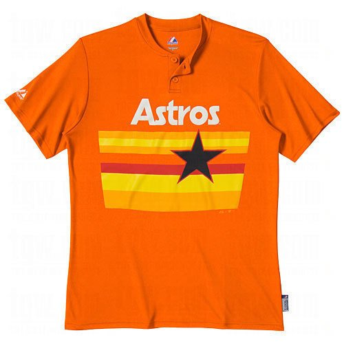timeless design e6cf0 2ac98 Amazon.com : Majestic Two Button Houston Astros Cool Base ...