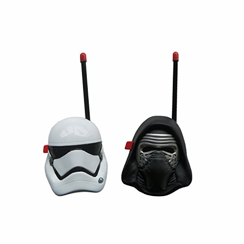 Star Wars Kylo Ren And First Order Trooper Walkie Talkies For Kids Static Free Extended Range Kid Friendly Easy To Use 2 Way Walkie Talkies