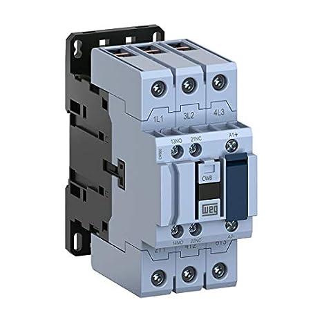 IEC Contactor CWB12-11-30D39 460-480VAC Coil 3-Pole 12 Amps Weg Electric