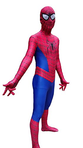 Men's Marvel Spider-Man Skin Fullbody Costume for Adult and Child