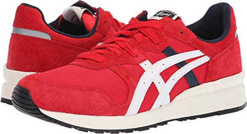 (Onitsuka Tiger by Asics Unisex Tiger Ally Classic Red/Cream 11 M US)