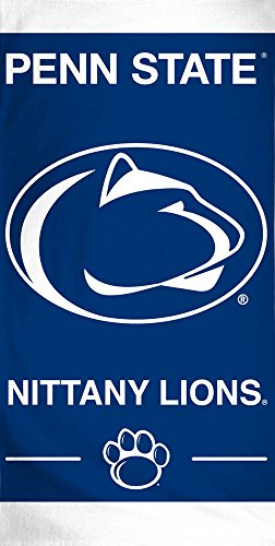 McArthur NCAA Penn State PSU Nittany Lions Beach Towel, 60 x 30 Inches by McArthur