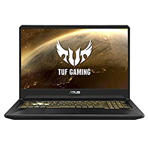 ASUS TUF Gaming FX705DT 17.3″ FHD Laptop GTX 1650 4GB Graphics (Ryzen 7-3750H/8GB RAM/1TB HDD + 256GB PCIe SSD/Windows 10/Gold Steel/2.70 kg), FX705DT-AU020T