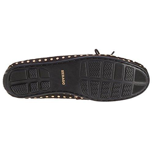 Sebago Men, Boat Shoes, bala Brown/Camel Clf Hair
