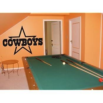 Dallas Cowboys 002 Wall art Sticker Decal