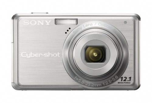 Sony Cybershot DSC-S980 12.1MP Digital Camera with 4x Optical Zoom with Super Steady Shot Image Stabilization ()