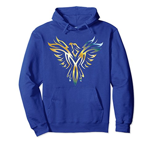 Unisex Phoenix Hoodie Medium Royal Blue