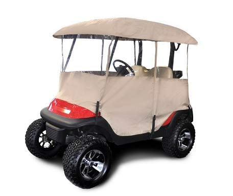 Red Dot Universal Golf Cart Enclosure for Carts with up to 54