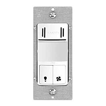 bathroom motion sensor light switch topgreener tdhos5 humidity sensor switch dual tech 22269