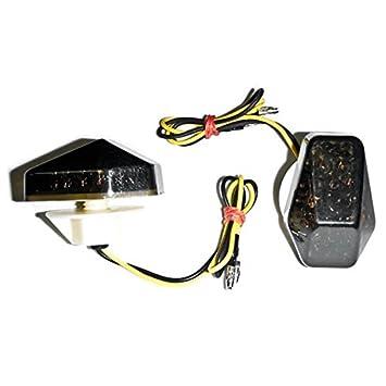 Smoke Flush LED Turn Signal For Suzuki GSXR 600//750//1000 2000-2005