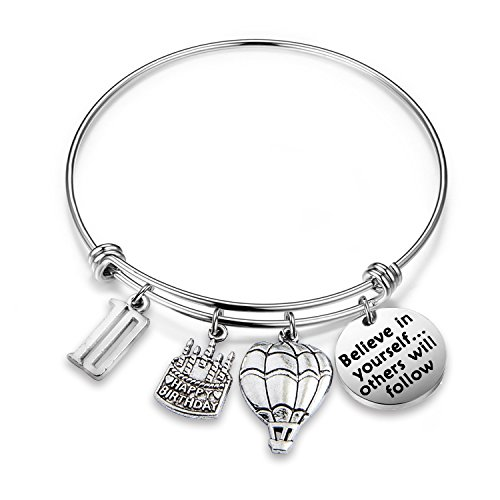 MAOFAED 10th Birthday Gift Birthday Bracelets for kids Anniversary Gift Inspiration Believe in yourself (B-10th)