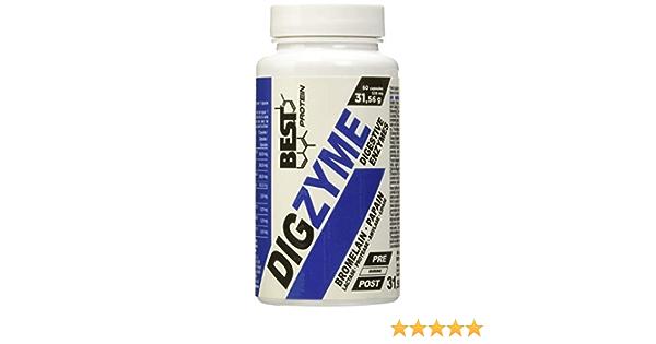 Best Protein Digzyme sin Sabor - 60 Cápsulas