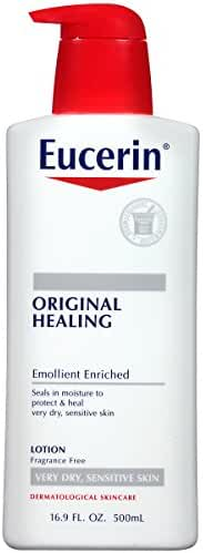 Eucerin Original Healing Rich Lotion 16.9 Fluid Ounce (packaging may vary)