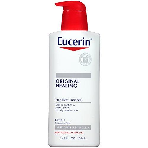 Eucerin Original Healing Rich Lotion 16.9 Fluid Ounce (packaging may (Original Hand Creme)