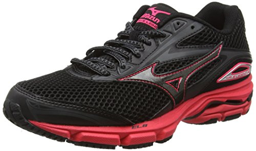 Mizuno Wave Legend 4 - Zapatillas de running Mujer Negro - Black (Black/Black/Diva Pink)