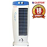 Castor Cool Breeze Tower Fan with 25 Feet Air Delivery, 4-Way Air Flow, High Speed, Anti Rust Body(4 Color)