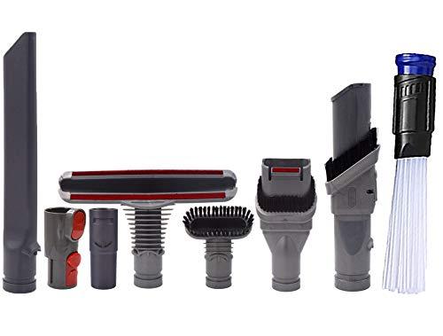 Wonlives V6 Adapter Set 8 PCS Replacement Attachment Kit for DC35 DC45 DC58 DC59 DC62 V6 DC48 Stair Brush Crevice Vacuum Parts - Vacuum Set Attachment