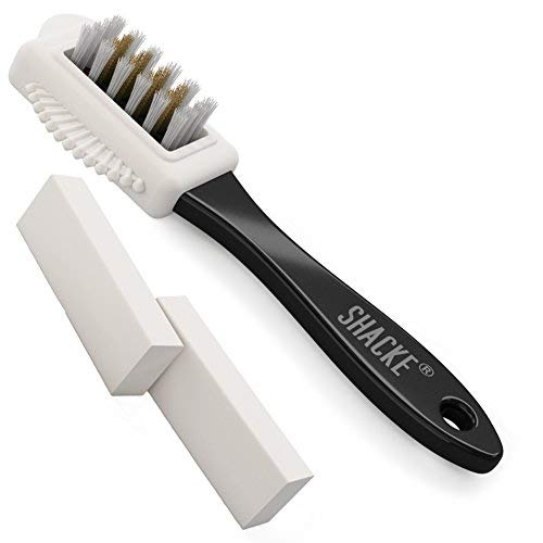 Shacke Suede & Nubuck 4-Way Leather Cleaner Brush + 2 Borrad