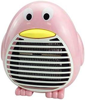 VGFTP Mini Calentador Calentador de Ventilador, Calentadores de pingüino eléctricos portátiles, con protección Segura contra el sobrecalentamiento para la Mesa de Escritorio de la Oficina Dormitorio: Amazon.es: Hogar