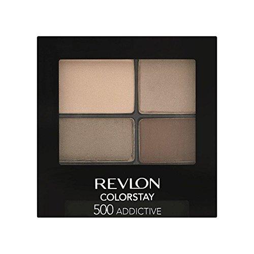 Revlon Colorstay 16 Hour Eye Shadow Addictive 500 (Pack of 6) - 500中毒性のレブロン 16時間のアイシャドウ x6 [並行輸入品] B0727R6C14