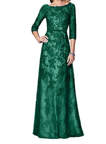 Dunkel Langarm Pailletten La Braut Gruen Blau Abendkleider Spitze Marie Lang Festlichkleider Brautmutterkleider pwWSfA4