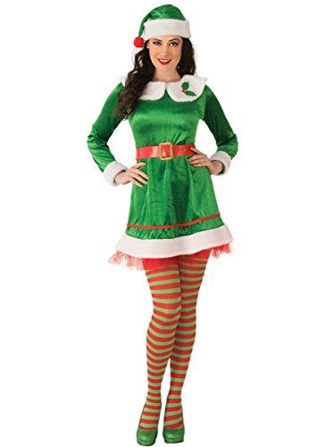 Rubie's Costume Co Women's Elf Costume Dress, As Shown, -