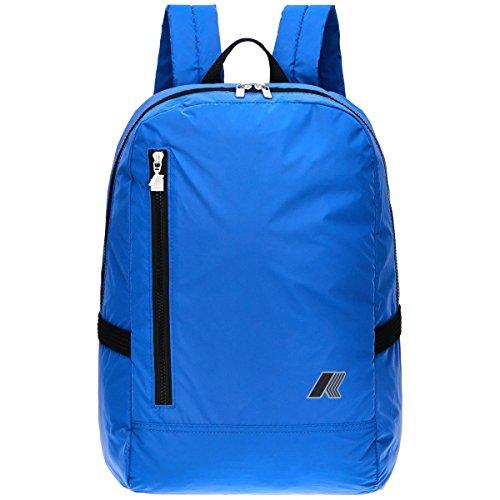 Zaino K-Way 7akk1d09a9801 K Pocket Reflective Backpack Navy Spring Summer 2017