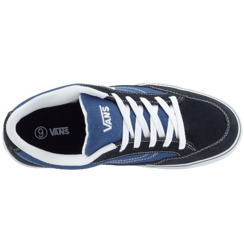 Vans Men Bearcat Sneakers Skate Shoes (8.5, Navy/STV Navy)