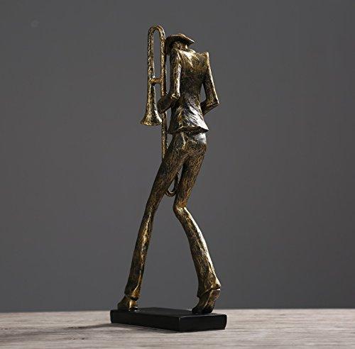 European style living room entrance music crafts resin figures wine gift zj02011050