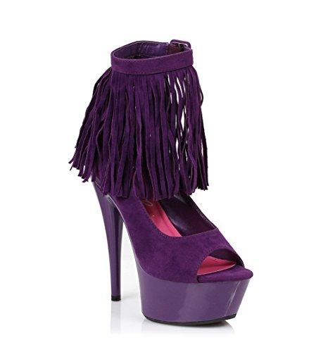 Velvet Purple Women's Boot 609 Ellie Aponi Shoes 45vzYwqUw