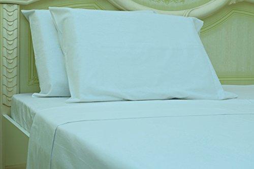 Goza Cotton 190 Gram Heavyweight Flannel Sheet Set (Queen, - Heavyweight Chaps