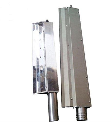 GOWE 1,2 m Longitud de acero inoxidable Anillo soplador aire cuchillo para compresor de aire: Amazon.es: Bricolaje y herramientas