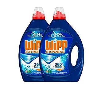Wipp Express Detergente Líquido - Pack de 2 - Total: 62 Lavados (3 ...