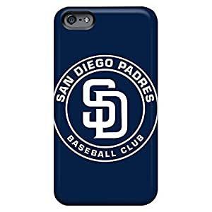 Design phone back shells Durable Iphone Cases Heavy-duty iphone 4s - baseball san diego padres