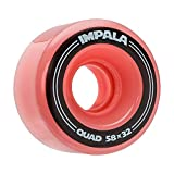 Impala Roller Skates 4 Pack Wheels - Pink
