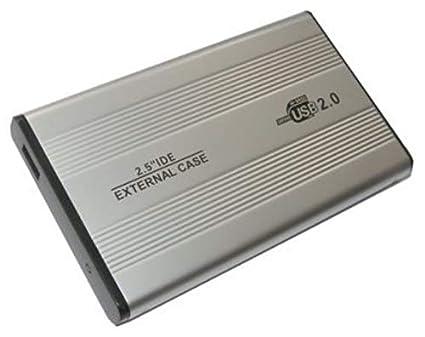 Caja de Disco Duro Externo USB de Metal (2,5
