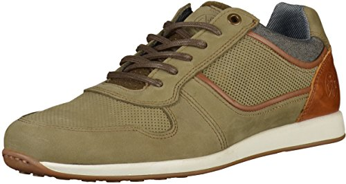 BULLBOXER Herren 6343a Sneaker Grün