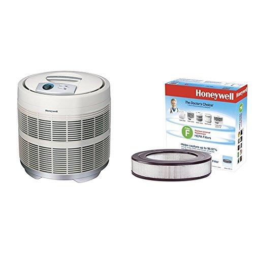 Honeywell 50250-S True HEPA Air Purifier, 390 sq. ft. with Universal 14